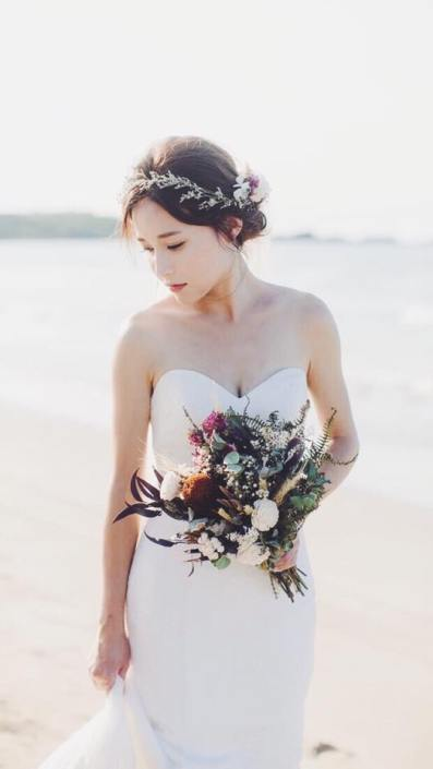 求婚花束台北推薦花店-喜歡生活乾燥花求婚花束推薦