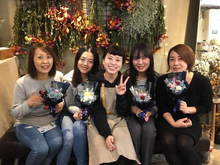 永生花課程教學,台北永生花課程教學