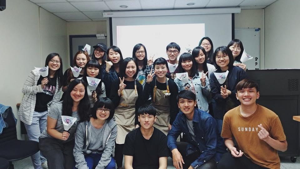 台北乾燥花永生花課程教學,輔仁大學