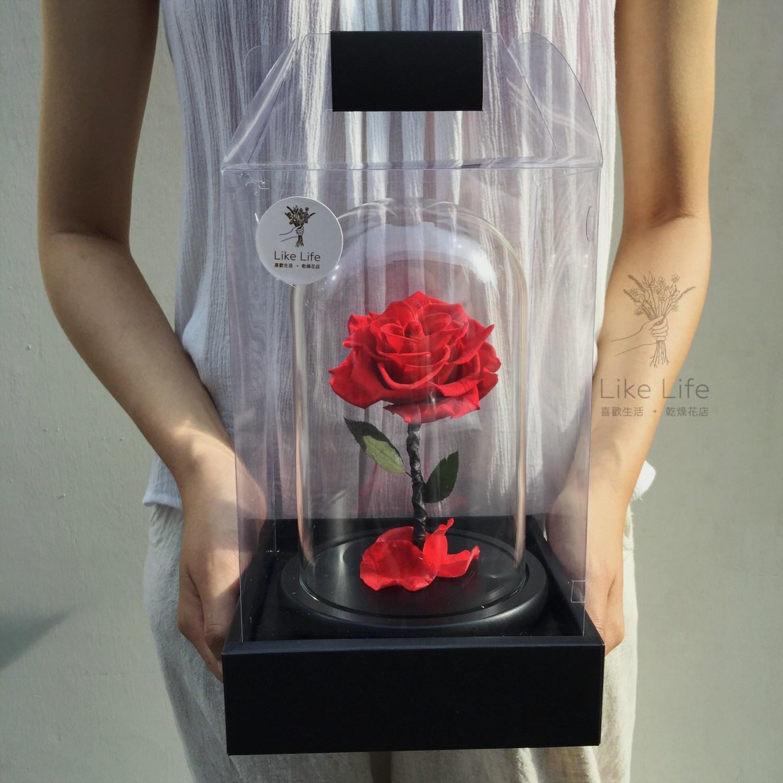 永生花玻璃罩盒裝