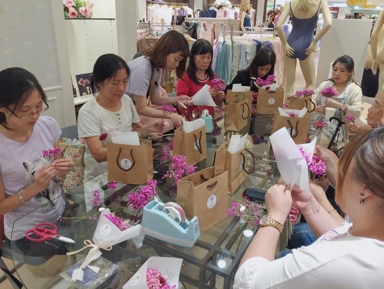 台北乾燥花課程教學,喜歡生活乾燥花店