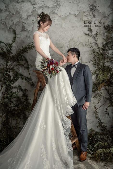 婚紗台北乾燥花店推薦,新娘乾燥花捧花推薦,喜歡生活婚禮捧花推薦