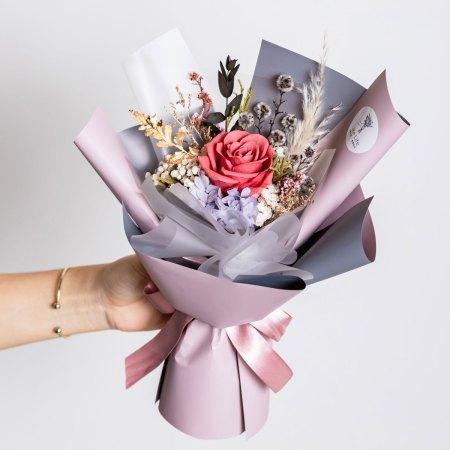 永生花束-粉色永生花束封面