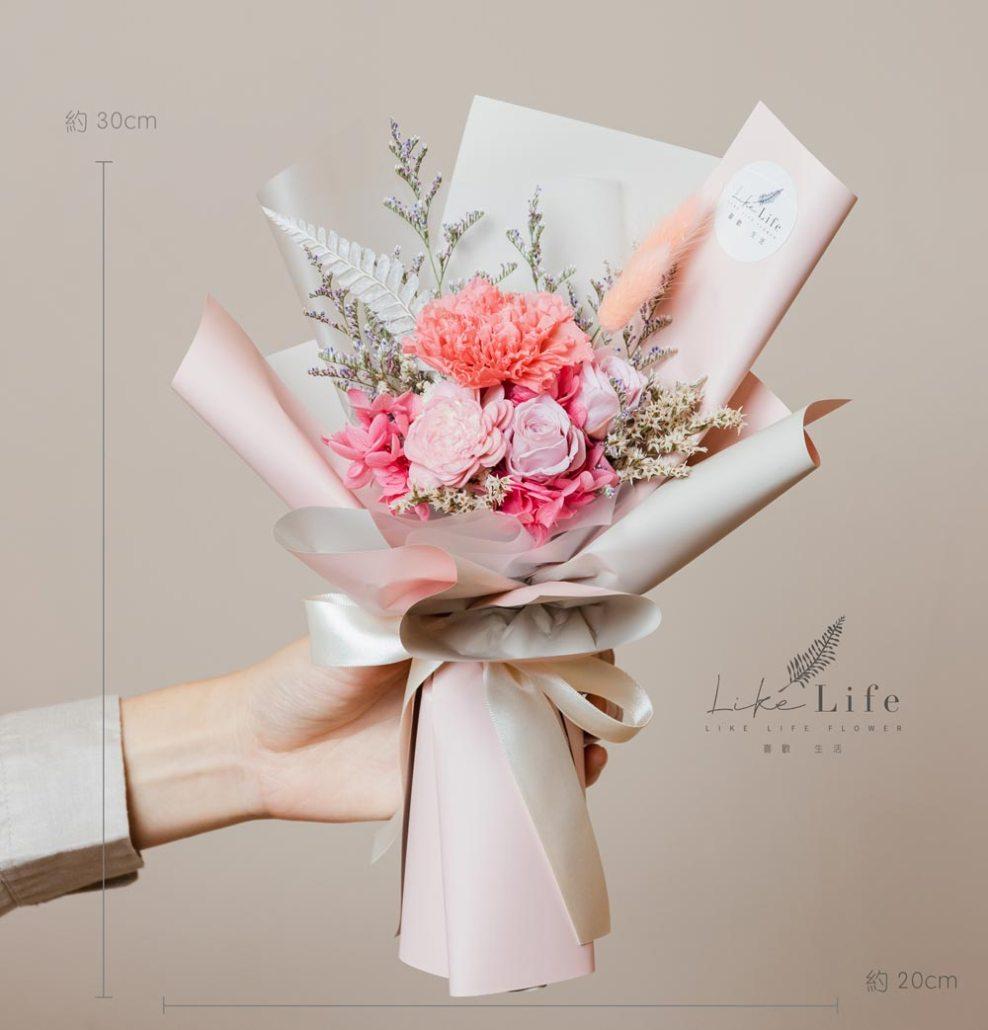 母親節康乃馨台北推薦,粉色母親節康乃馨花束