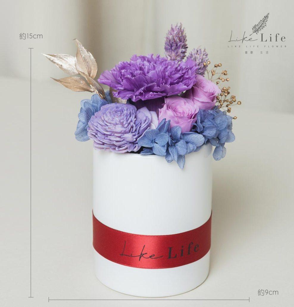 母親節康乃馨台北推薦,紫色康乃馨花束盆栽,台北母親節盆栽