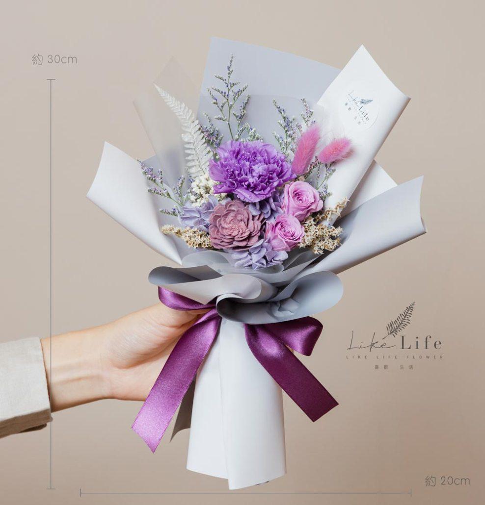 母親節康乃馨台北推薦,母親節紫色康乃馨花束