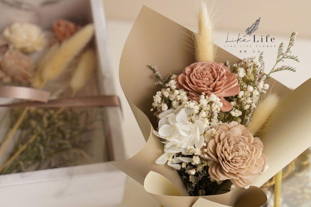 乾燥花花束,手作DIY材料包