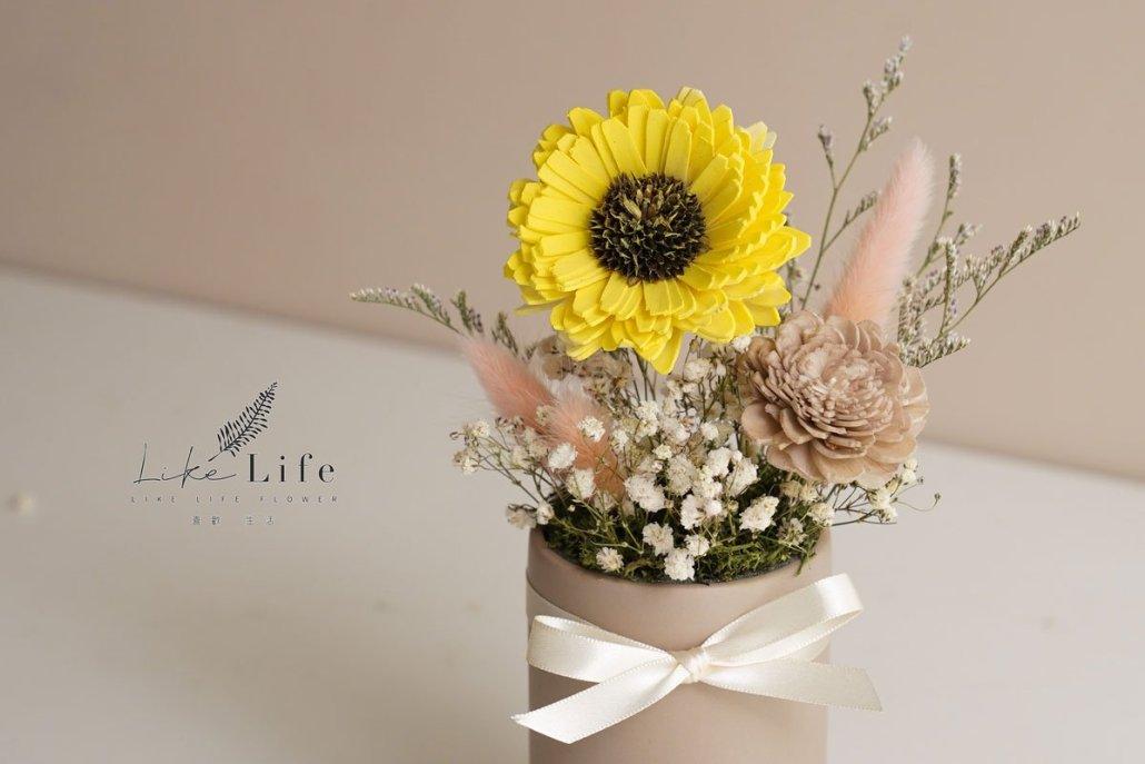 向日葵盆栽材料包黃色向日葵2