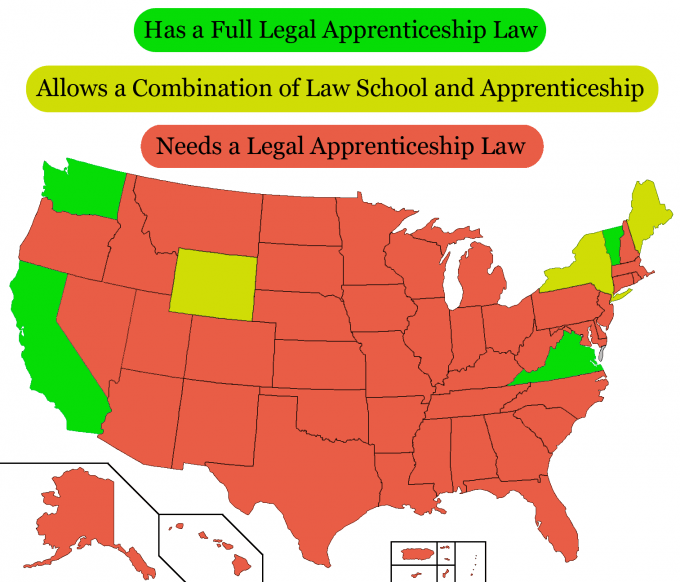 Here Come 43 State Campaigns for Legal Apprenticeship