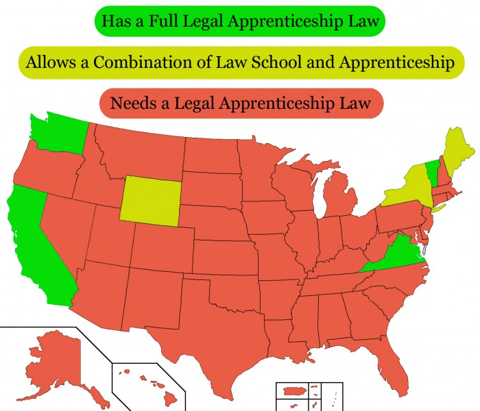 StatebyState Guide To Apprenticeships Like Lincoln - Us map apprenticeship program