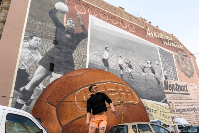 Match Of The Century Mural Budapest