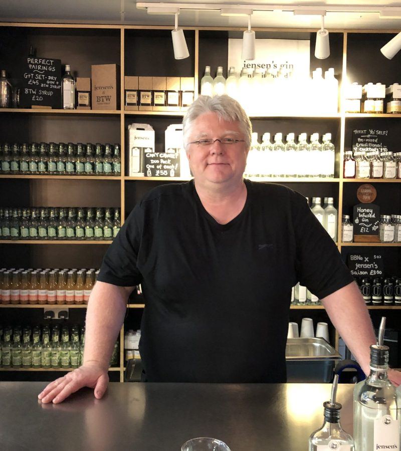 Faces Behind the Places: Christian Jensen, Jensen's Gin.