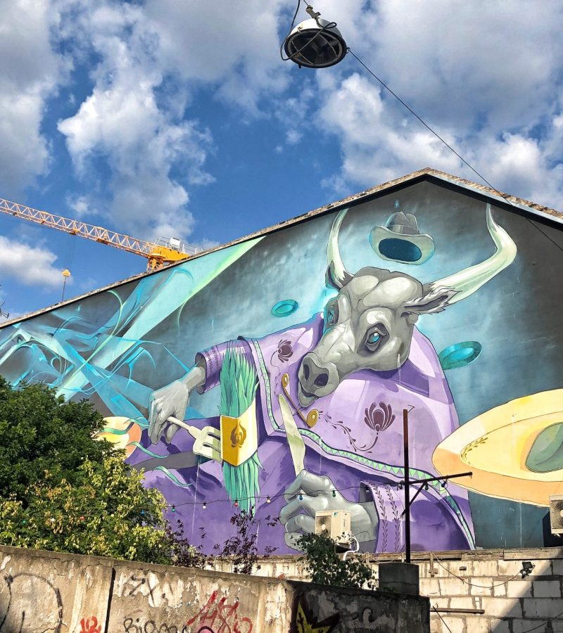 Budapest Street Art Guide: District VII
