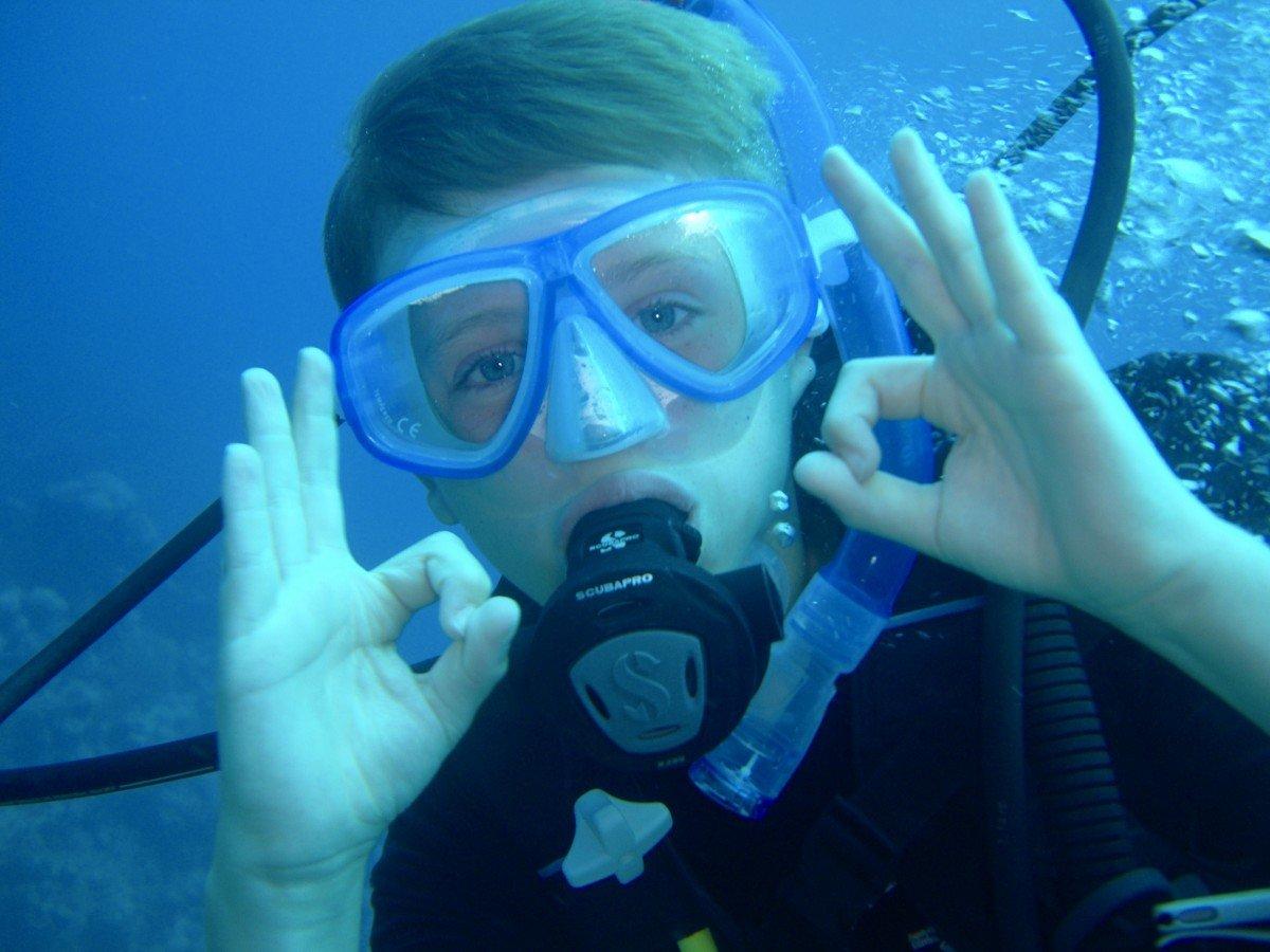 Beaches resort child PADI diving