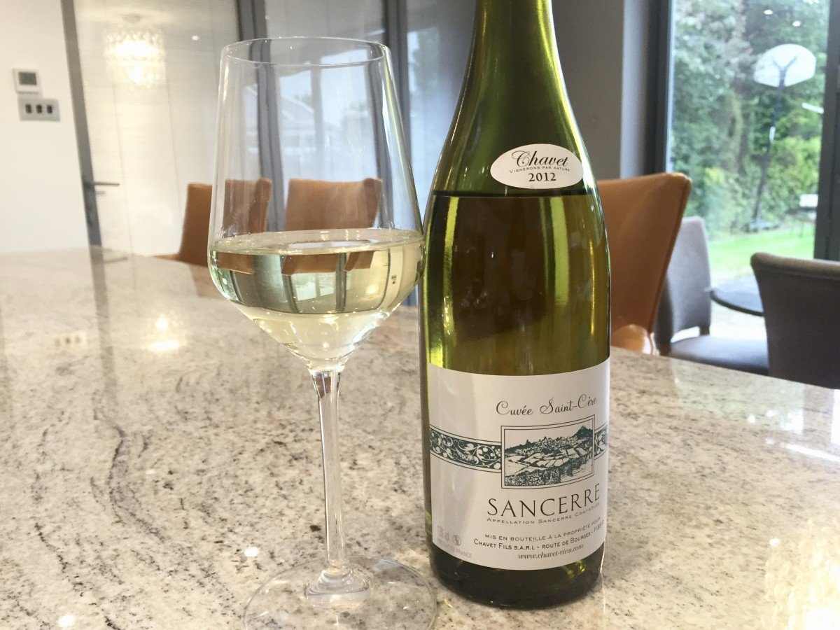 Sancerre wine wine salmon