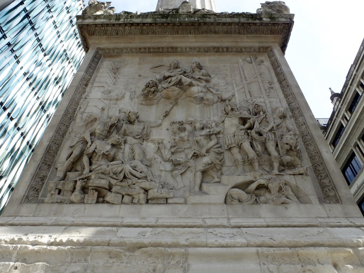 the monument london great fire of london