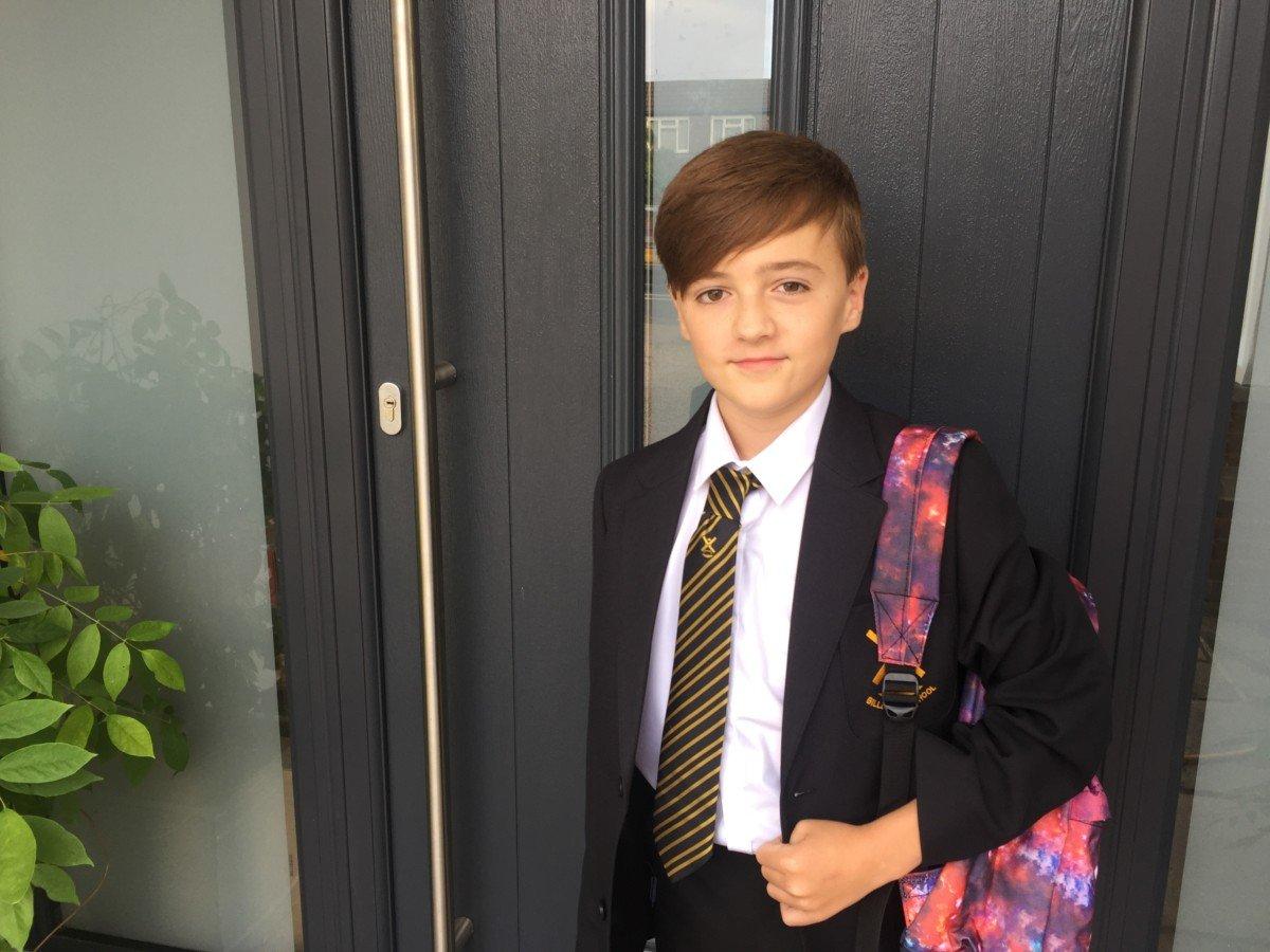 first day at senior school