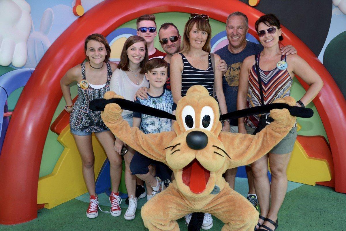 Pluto Walt Disney World