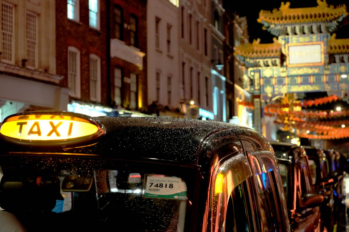 black cab china town