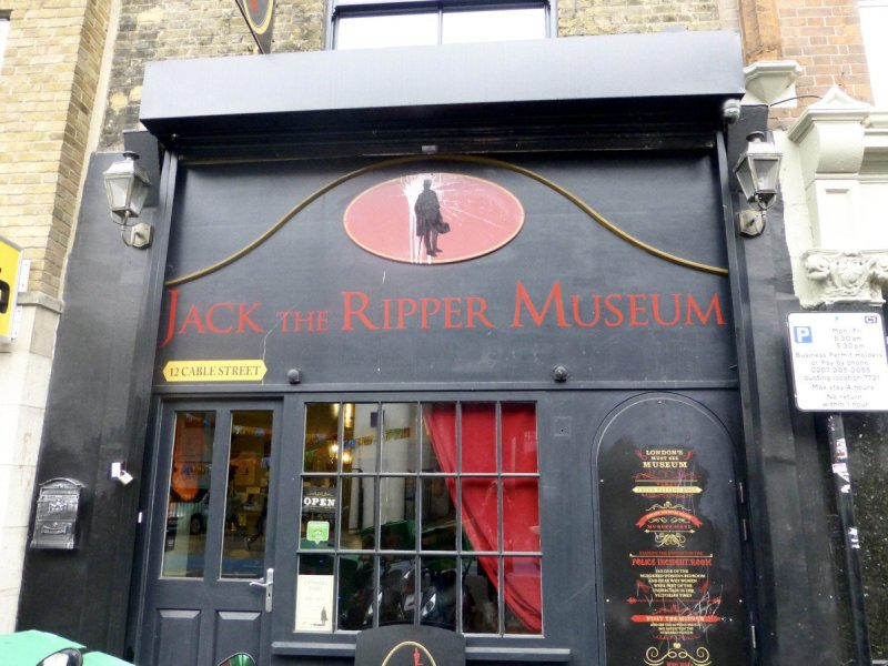 Visit the Jack the Ripper Museum London this Halloween.