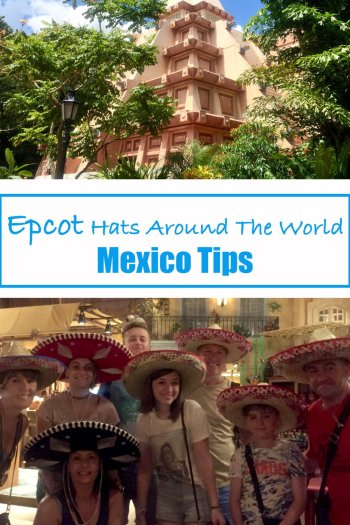Epcot Hats Around the World, Mexico Tips
