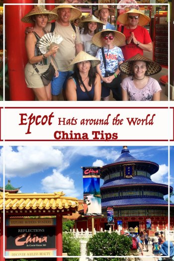 Epcot Hats Around the World, China Tips.