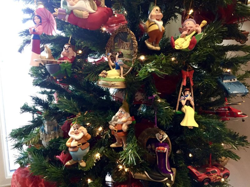 Home decor Wrapped in Disney Memories at Christmas