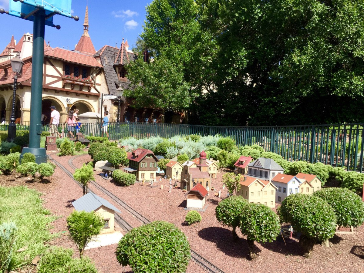 Epcot Hats Around the World, Germany Tips. miniature railway