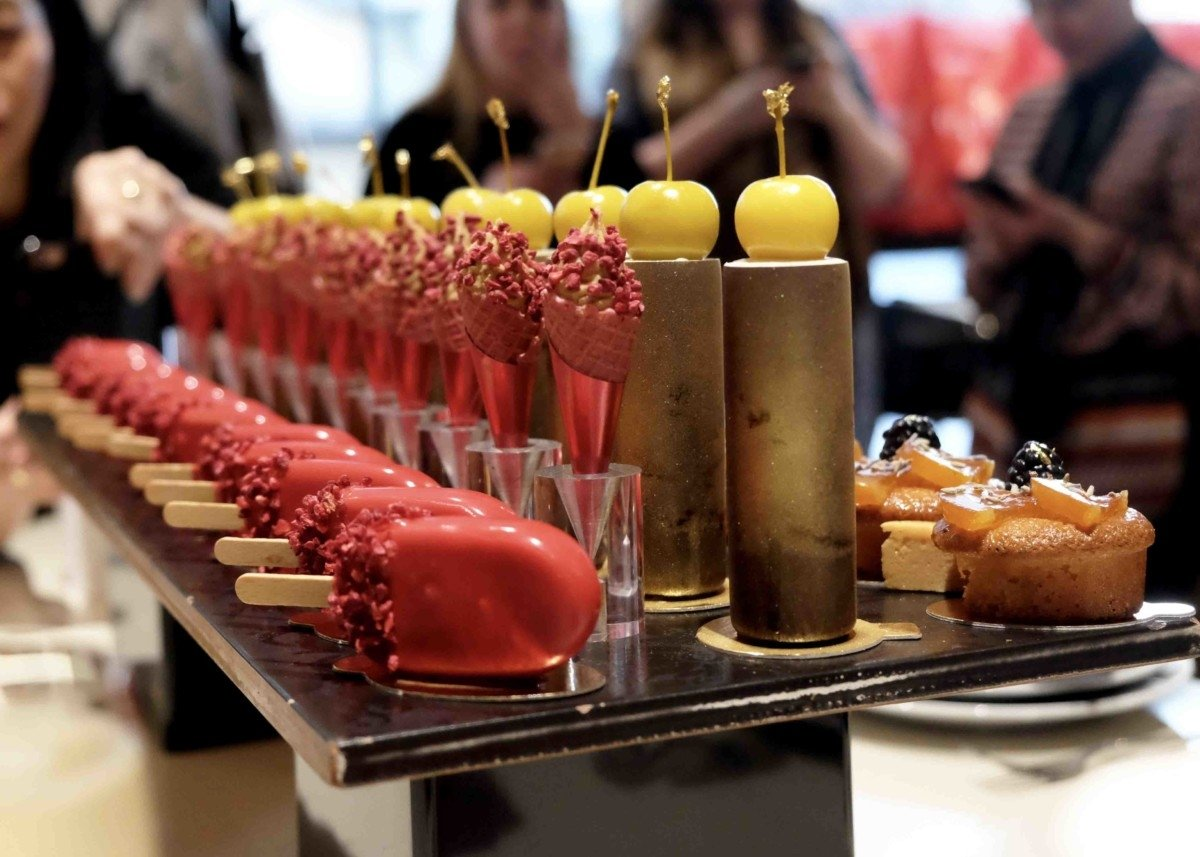 A Day at Cake Boy with Eric Lanlard and Red Letter Days petit fours afternoon luxury tea