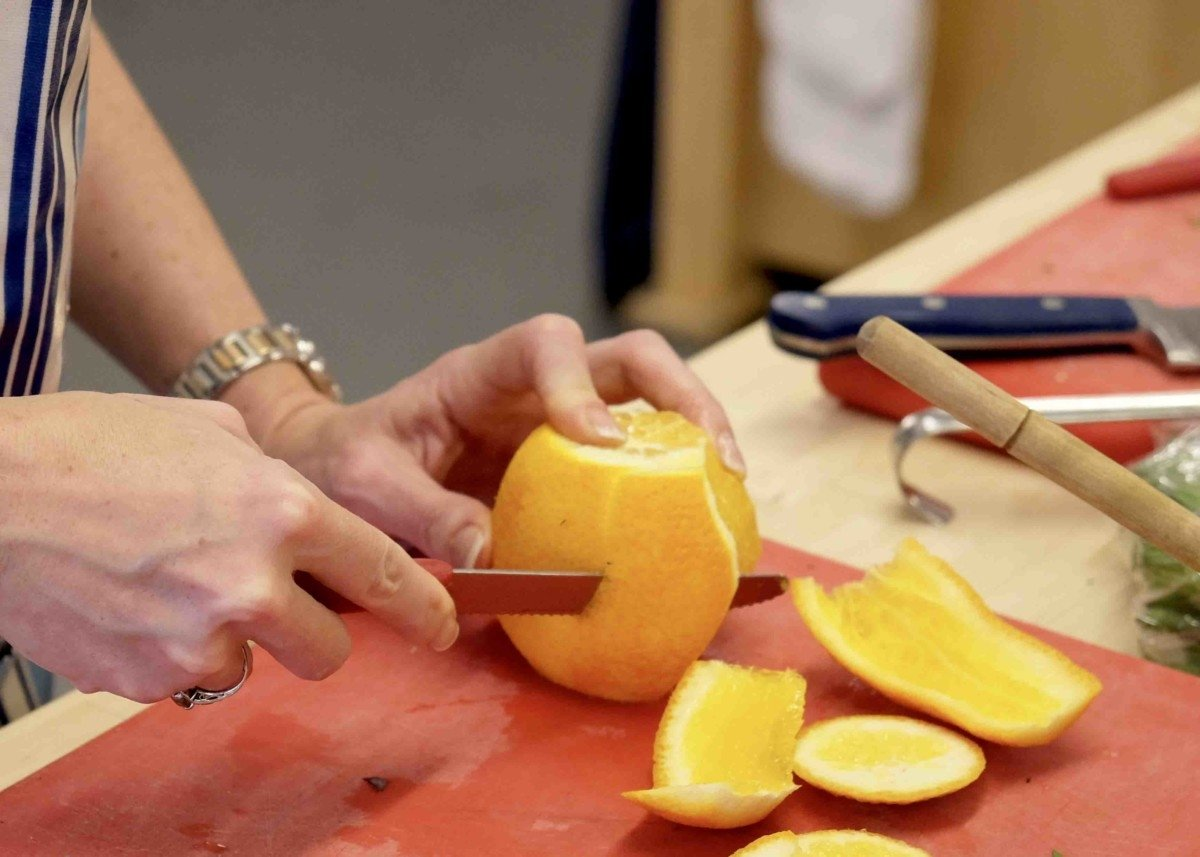 leith segmenting orange photo