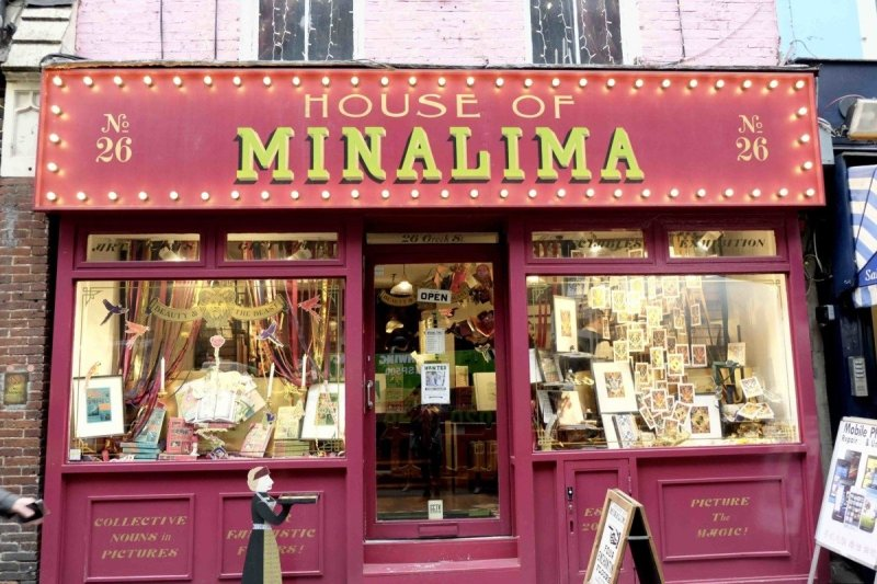 Minalima Secret Harry Potter stop in London
