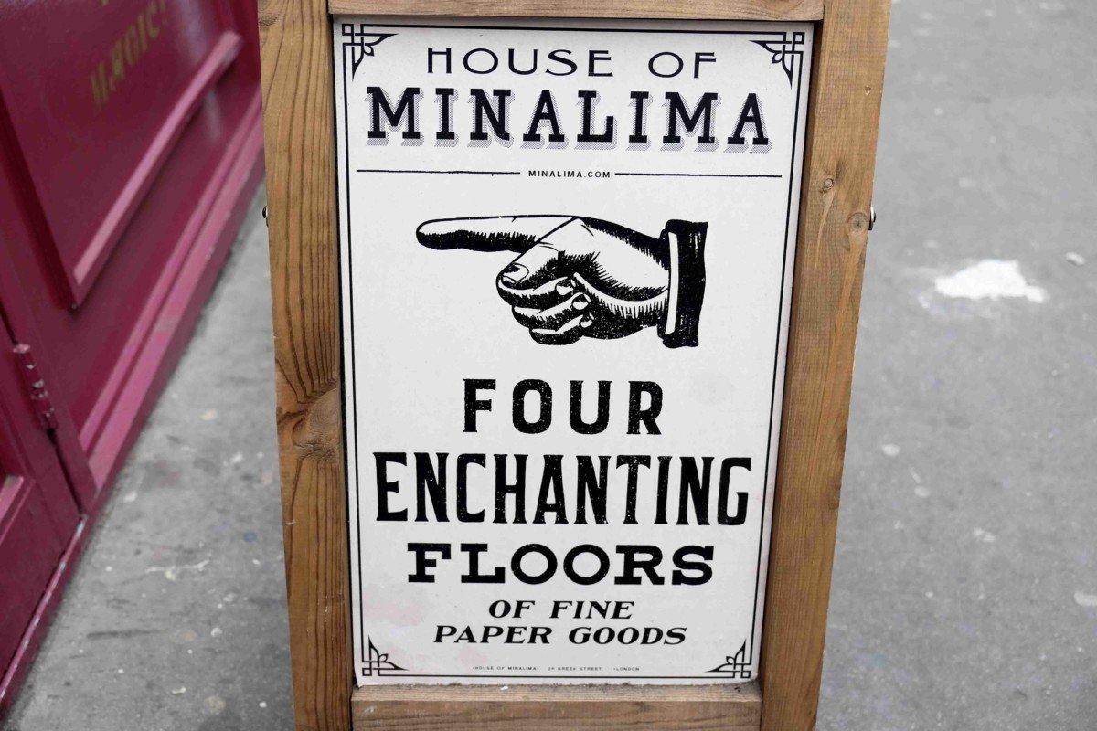 Mina Lima Secret Harry Potter stop in London