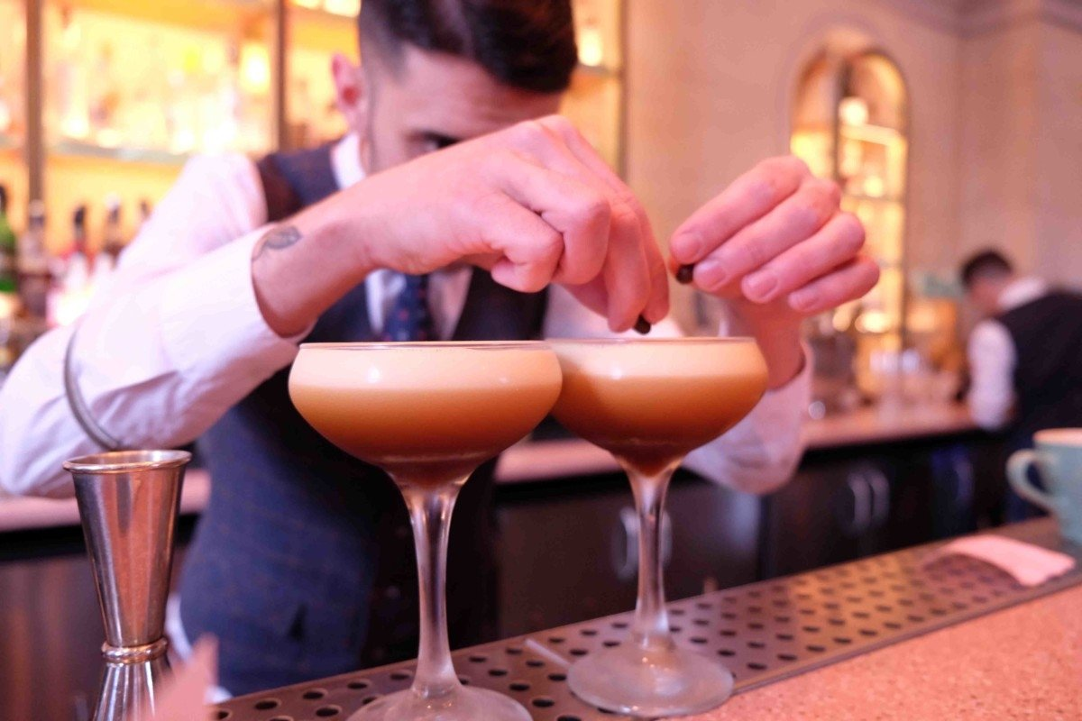 Bronte Restaurant and bar cocktail making