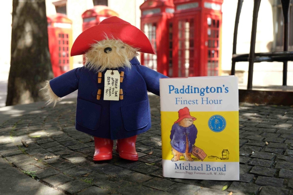 paddinton bear in london