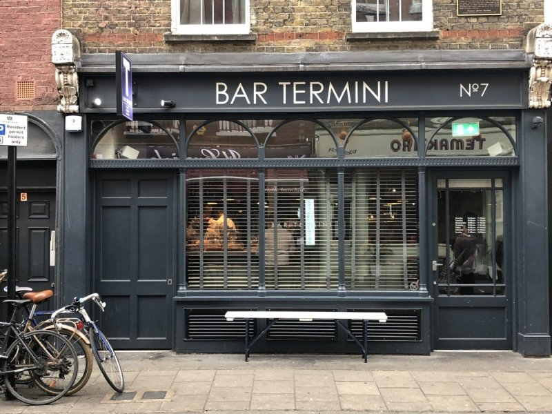 Best cocktails in London at Bar Termini