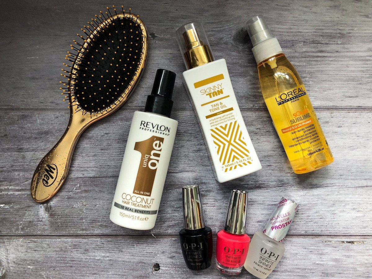 Holiday Essentials and Summer Hair Care Survival Guide look fantastic hair products. Api gel nail