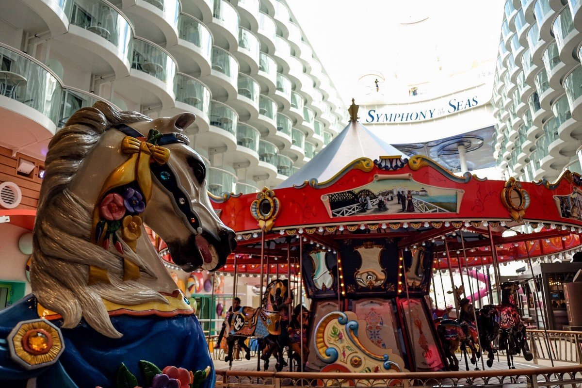 The Carousel on the Boardwalk Symphony of the seas