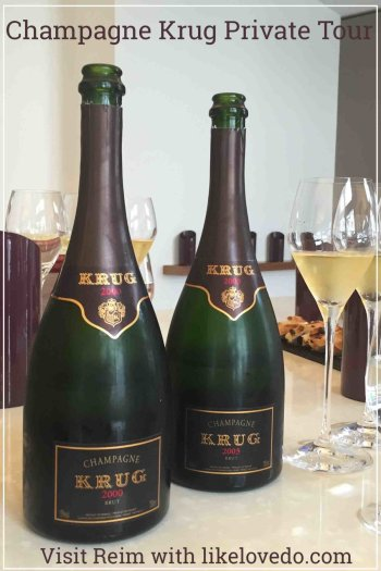 Krug is one of the most prestigious houses in the champagne region in France. To be able to visit  and do a private tour and tasting at The House of Krug is truly exceptinonal. Joseph Krug established the House of Krug in 1843 to create the very best champagne.  Take a unique tour and taste this fabulous Champagne