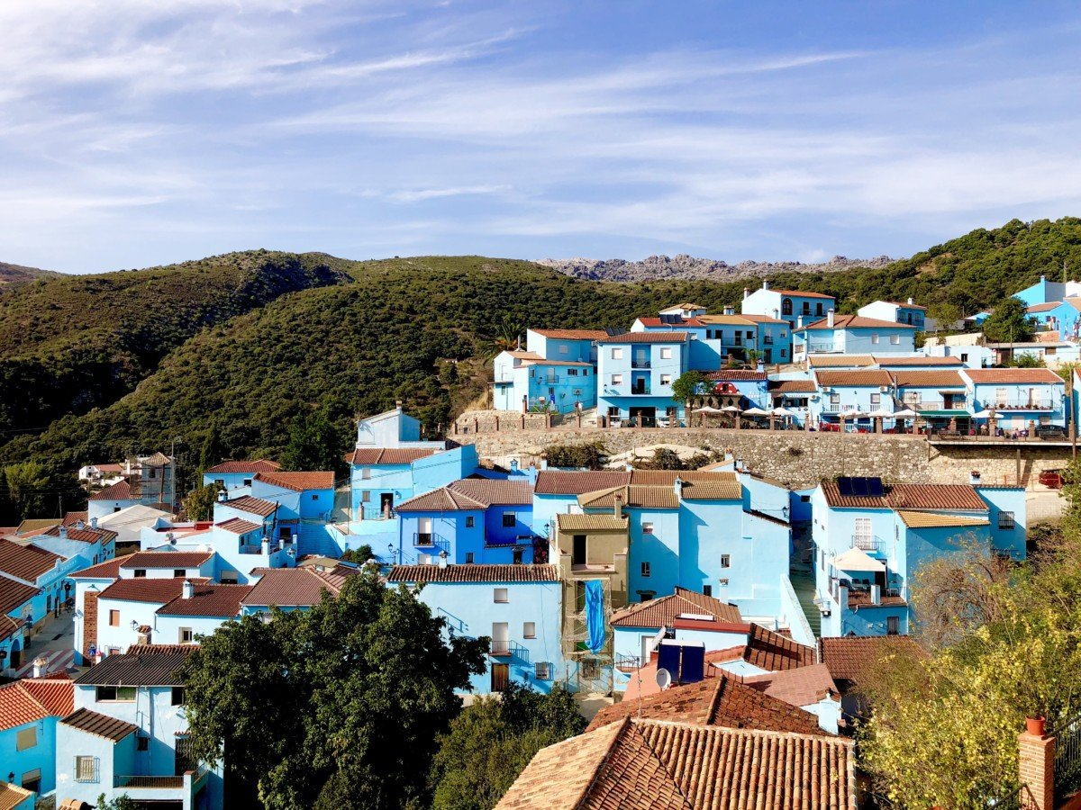 Júzcar the smurf village thats Blue