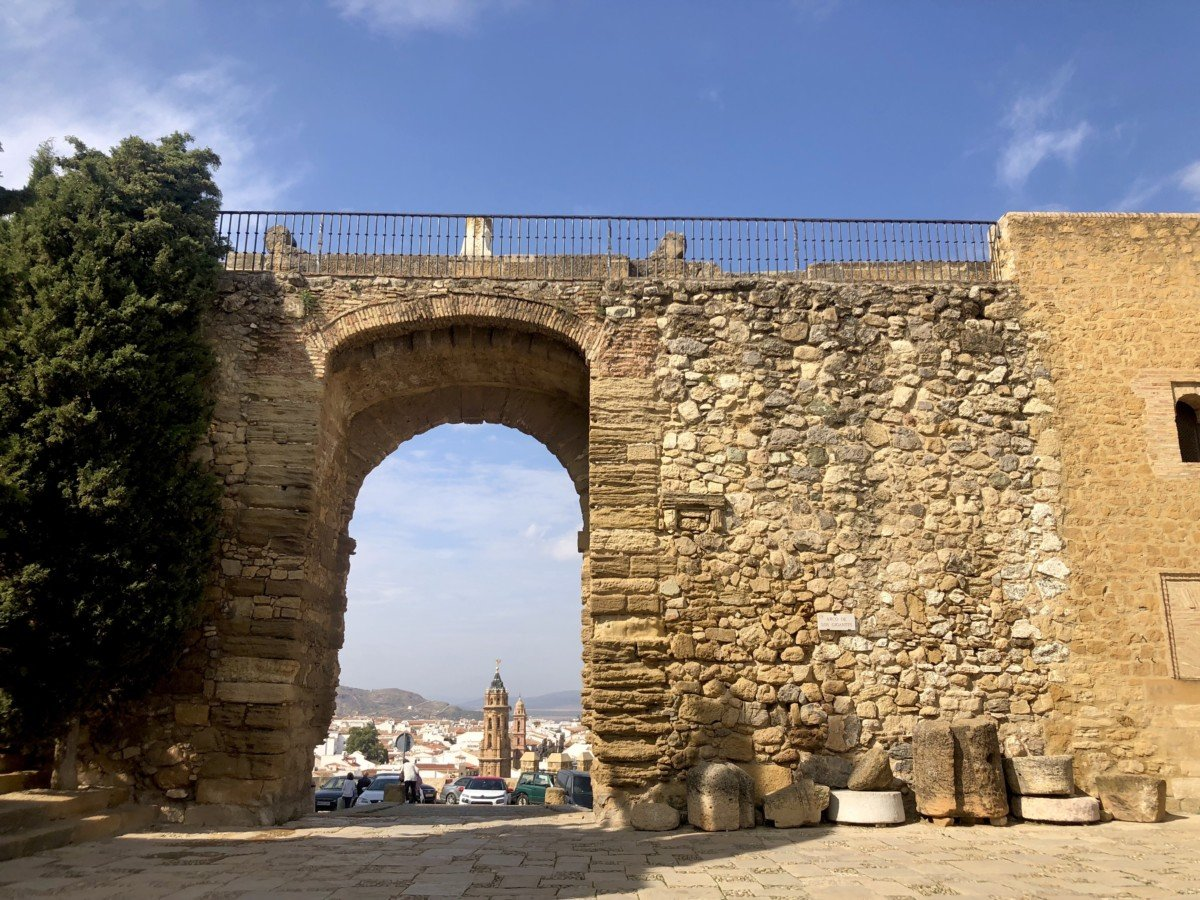 The gate of The Alcazaba of Antequera