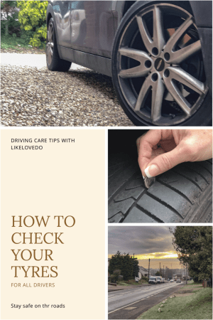 Not only can they help keep you safe but its also illegal to have poor not functioning or faulty tyres.So you should check your tyres regularly to avoid accidents and also a hefty fine.