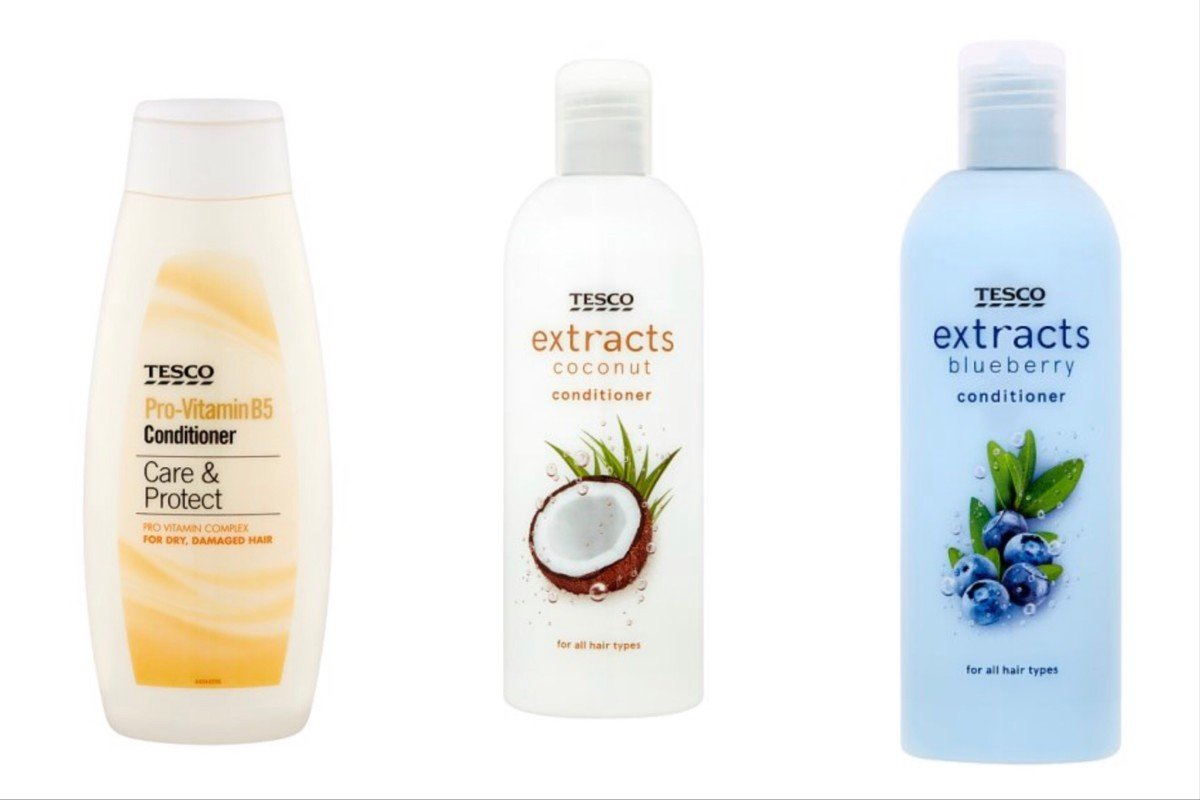 Tesco curly girl method conditioners
