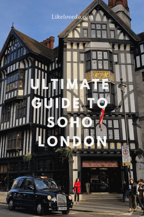 If you want to know what to do in Soho, what to eat in Soho and where to go in Soho check out this extensive list of Soho London day out tips. These tips and walking tour will help you discover to make the most of your time there.