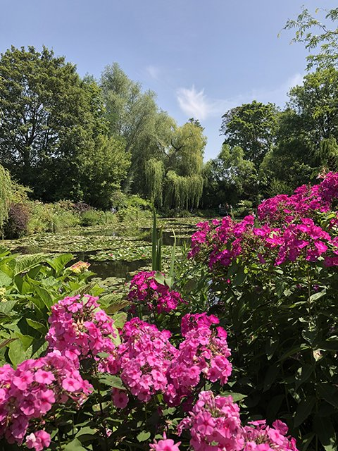 The gardens of Claude Monet in Giverny