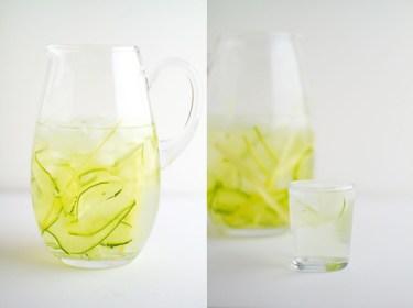 Cucumber Lemongrass Water