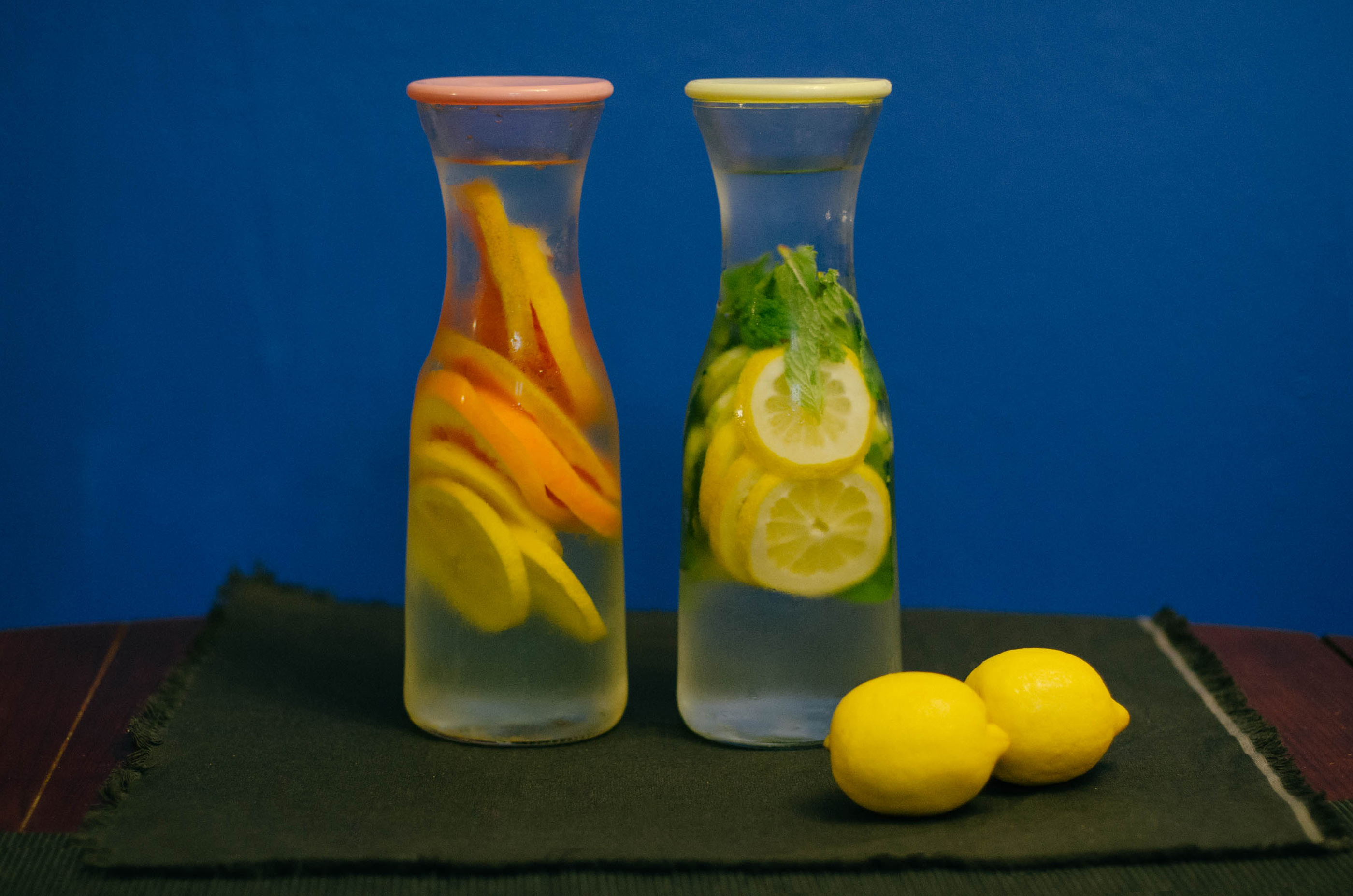 Infused Spa Water Recipes