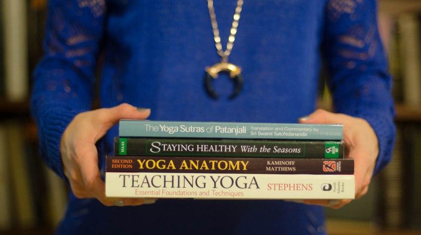 yoga teacher training books