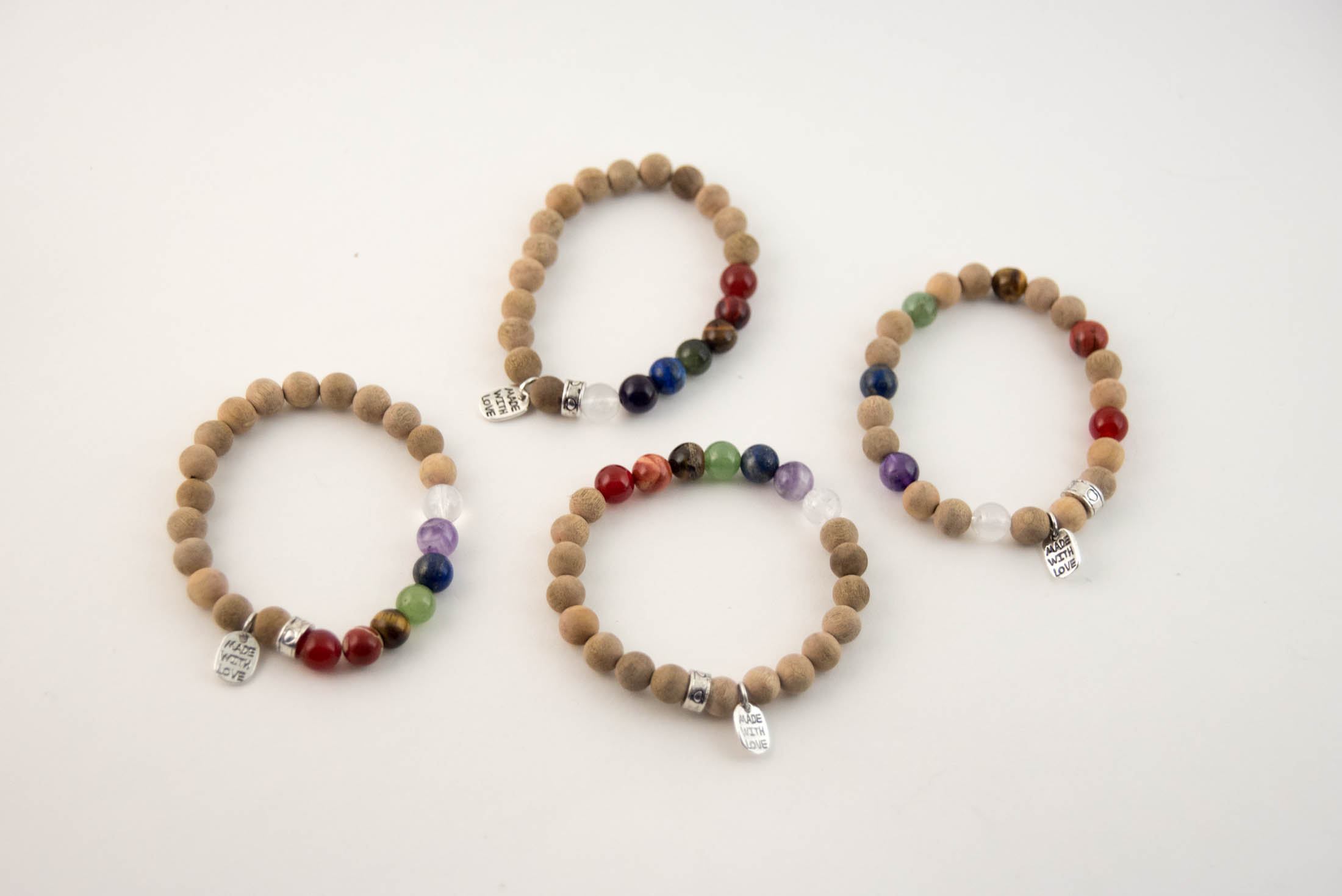 chakra bracelet tutorial