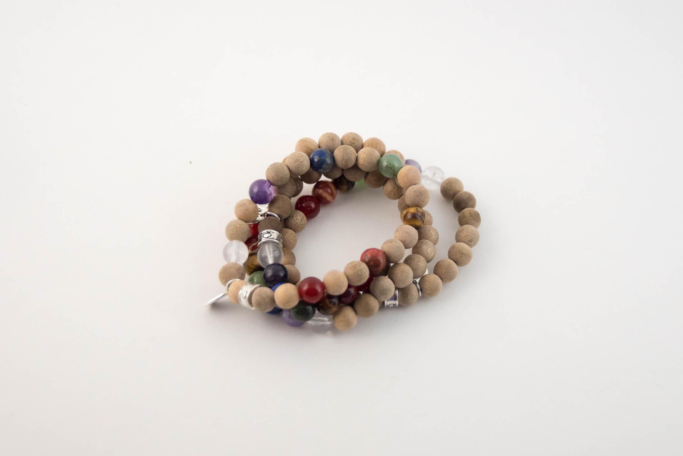 chakra bracelet diy