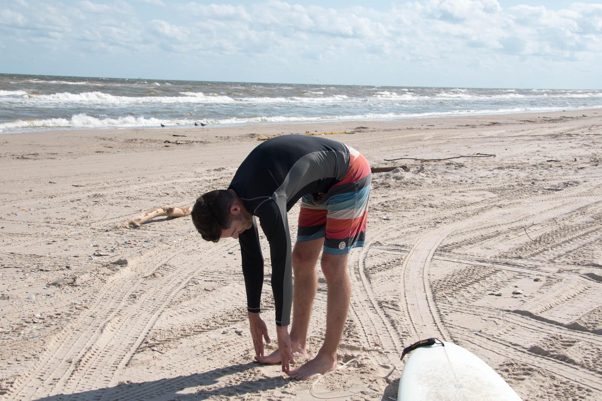 beach surfer